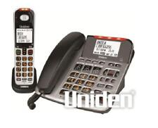 UNIDEN SSE47+1 SIGHT & SOUND ENHANCED CORDED & CORDLESS PHONE SYSTEM