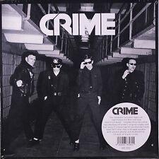 "CRIME Crime Box Set 7x7"" + CD . punk rock jeff feuerzeig black flag germs weirdo"