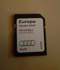Audi 2016 europa SD card Europe maps 8V0 919 866 D CHEAPEST ON EBAY