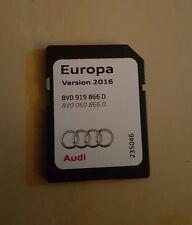 AUDI 2016 Europa Tarjeta SD Mapas De Europa 8V0 919 866 D más barato en eBay