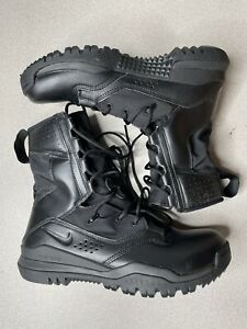 "Nike Men's SFB Field 2 Black 8"" Combat Tactical Boots Size 14 AO7507-001"