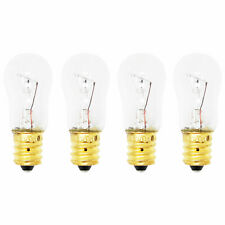 4-Pack Light Bulb for Ge Hss25Ifmdww, Gss20Iemdww, Pss25Sgnabs, Gsl25Ifrfbs