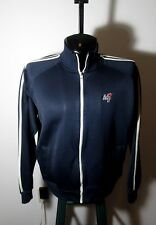 Men's ABERCROMBIE & FITCH Navy Blue Full Zip Jacket Size XL