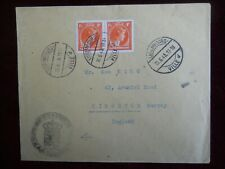Luxembourg Cover, with Pair 1 1/4f 'Charlotte' Stamps & Special Cachet, 15/06/45