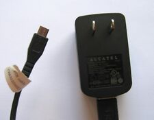 Alcatel CBA3000AG0C2 Charger Power Adapter for Cell Phones + Micro USB Cable