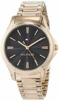 NEW Tommy Hilfiger Avery Ladies Analog Business Rose Gold Band 1781951