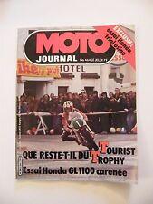 Motorcycle Journal June 1980 No.464 Honda Trial Factory GL 1100 carennee