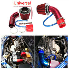 "Red Pipe Diameter 3""+Cold Air Intake Filter+Clamp+Accessories Car Air Intake Kit"