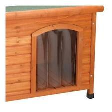 Premium Plus Dog House Wood Door Outdoor Ware Durable Flap - Small