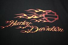 Harley Davidson Flames - Indianapolis Southside, IN T-Shirt XL