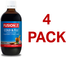 Fusion Health Cold & Flu 200mL - 4 Pack