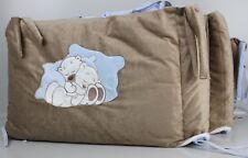 Baby Kinderbetttasche Von Sleeping Bear Mit Fächern In Der Farbe Blau Bettausstattung