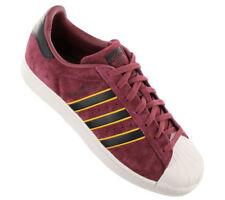 Adidas Original SUPERSTAR 2 Men's Trainers Shoes Burgundy CM8079