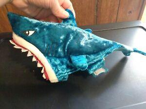 Thrills And Chills XSmall Dog  Costume Blue Great White Shark