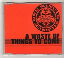 (FZ699) One Minute Silence, A Waste Of Things To Come - 1998 DJ CD