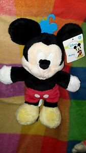 Mickey Mouse Baby Soft Toy Plush - ultra soft new and tagged