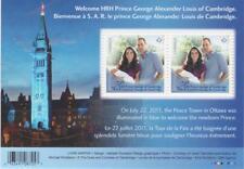 Canada 2013 #2685 - HRH Prince George Souvenir Sheet - MNH
