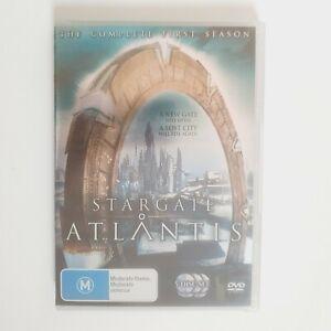 Stargate Atlantis Season 1 TV Series DVD Region 4 AUS - Free Postage