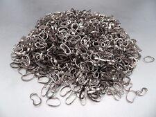 Élastiques TPU 20mm x 2mm noir pour cheveux - Sachet de 1000