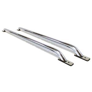 GO RHINO 8076C Stake Pocket Bed Rails For 2014 Chevrolet Silverado 1500 78.8 Bed