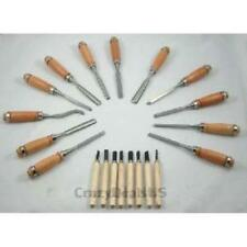 New listing Set of 20 High Quality Wood Working Chisels Clockmaker Lathe Carving