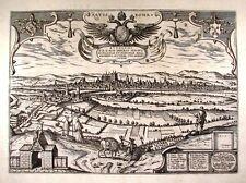 Antique map, Ratisbona (alt. Regensburg)