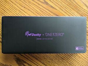 Ducky X ONEofZERO - IODINE Limited Edition 65% Keyboard (Tealios v2 Linear)