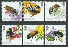 GREAT BRITAIN 2015 THE HONEYBEE SET OF 6 UNMOUNTED MINT, MNH