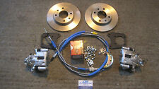 Mk1 Mk2 Escort Rs2000 Capri 2.8i Mexico Cosworth Rear Disc Brake Conversion 13""