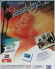 BEACH BOYS 1983 SOUTH CALIFORNIA CONCERT POSTER ORIGINAL ORIGINAL