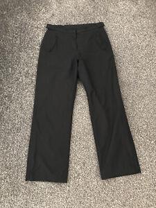 Footjoy Dryjoys Women's Waterproof Golf Trousers Medium M Black W32 L30