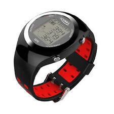 POSMA GT2 Golf Trainer + Activity Tracking GPS Golf Watch Band Range Finder Red