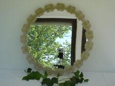 runder Spiegel 60er Jahre Durchmesser 50 cm Wandspiegel Vintage roaring sixties