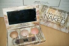 Urban Decay Naked illuminated trio palette new & boxed but slightly DAMAGED !!!