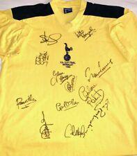 Tottenham SIGNED 1982 FA CUP FINAL SHIRT AFTAL OnlineCOA