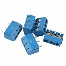 5 Pcs 3 Position PCB Mount Terminal Block Connector 16A CT