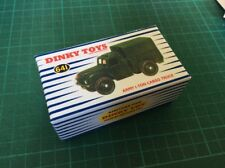 DINKY Box 641 Army 1-Ton Cargo Truck Unique Code 3 Design