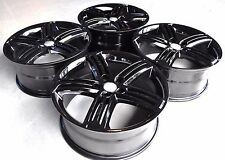 "18"" GOLF R STYLE BLACK WHEELS RIMS FIT VW GOLF MK5 MK6 MK7 CC PASSAT A3 S3 5345"