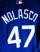 Ricky Nolasco Team Issue Batting Practice Jersey Los Angeles Dodgers #47 Size 50