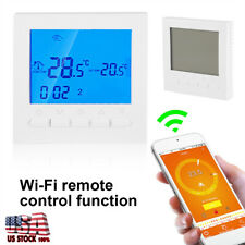Room Wifi Thermostat Digital Programmable Wireless Heating Smart Remote Control