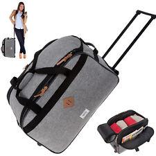 Reisetasche Trolley 55 Elephant Reisetrolley Handgepäck Tasche Bag 12690 TT Grau