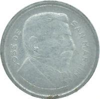 COIN / ARGENTINA / 50 CENTAVOS 1954      #WT16576