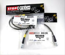 STOPTECH STAINLESS STEEL FRONT + REAR BRAKE LINES FOR 95-04 TOYOTA TACOMA 6 LUG
