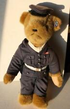 """Annette Funicello Bear Company Blue Army Service Man Bear 13"""" Tall-Must See"""