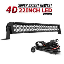280W 22inch Led Light Bar Combo Work Driving UTE Truck SUV 4WD Boat 24'' +Wiring