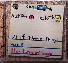 The Lemonheads - Car Button Cloth (CD, 1996, Atlantic)