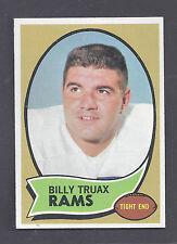 1970 Topps #18 Billy Truax Los Angeles Rams NM Plus