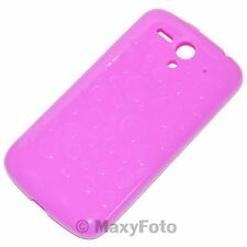 HUAWEI HARD COVER CUSTODIA ORIGINALE COLOR SHELL ASCEND G300 GLOSSY TOUCH VIOLA