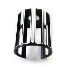 Black Aluminum Oil Filter Cover Cap Trim For Harley-Davidson models Touring Dyna