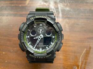 Casio G Shock Analog Digital Men's Watch Module 5081 GA-100
